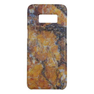 Brown Faux Marble Background Case-Mate Samsung Galaxy S8 Case