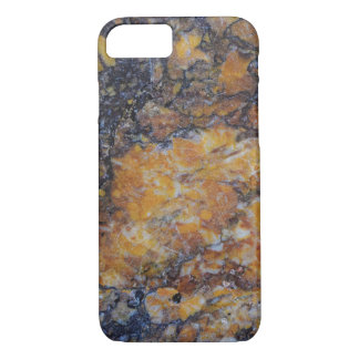 Brown Faux Marble Print iPhone 8/7 Case