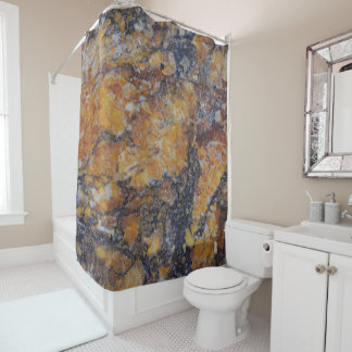 Brown Faux Marble Stone