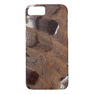 Brown Feather Design iPhone 8/7 Case
