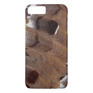 Brown Feather Design iPhone 8 Plus/7 Plus Case