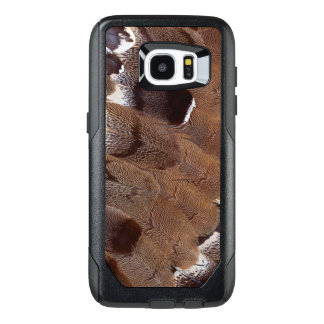 Brown Feather Design OtterBox Samsung Galaxy S7 Edge Case