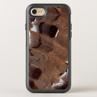 Brown Feather Design OtterBox Symmetry iPhone 8/7 Case