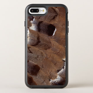Brown Feather Design OtterBox Symmetry iPhone 8 Plus/7 Plus Case