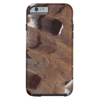 Brown Feather Design Tough iPhone 6 Case