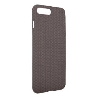 Brown Floral Design iPhone 8 Plus/7 Plus Case