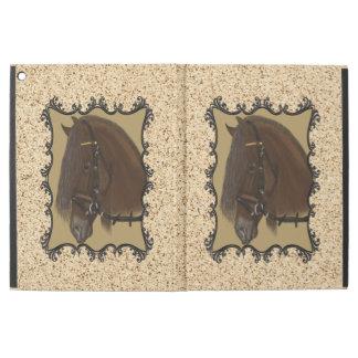 "Brown Friesian Draft Horse iPad Pro 12.9"" Case"