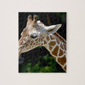 Brown Giraffe during Daytime Jigsaw Puzzle