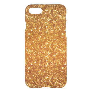 Brown Glitter & Sparkles iPhone 7 Case