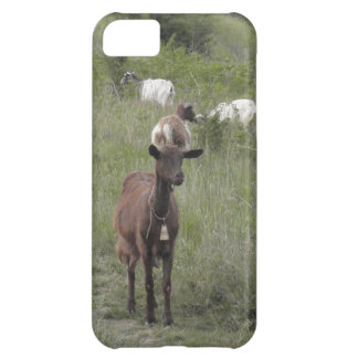 Brown Goat Case For iPhone 5C
