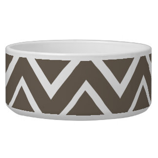 Brown gray whimsical zigzag chevron pattern