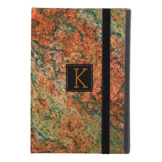 Brown & Green Marble Stone iPad Mini 4 Case