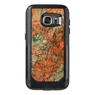 Brown & Green Natural Marble Texture OtterBox Samsung Galaxy S7 Case