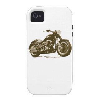 Brown Harley Motorcycle iPhone 4 Cover