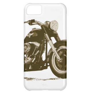 Brown Harley Motorcycle iPhone 5C Cover