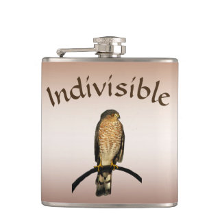 Brown Hawk Indivisible Flask