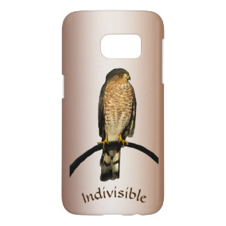 Brown Hawk Indivisible Galaxy S7 Case