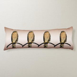 Brown Hawks Body Pillow