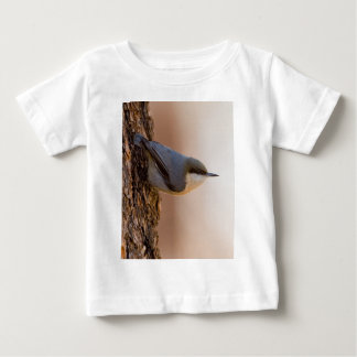 Brown-headed Nuthatch Baby T-Shirt
