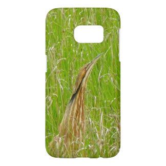Brown Heron in Nature Samsung Galaxy S7 Case