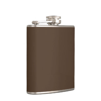 Brown Hip Flask