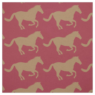 Brown Horse Fabric