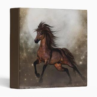 Brown Horse Fantasy Binder