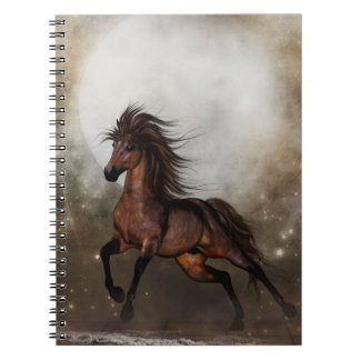 Brown Horse Fantasy Notebook