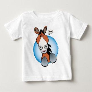 Brown Horse Hay! Baby T-Shirt