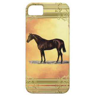 Brown Horse iPhone 5 Covers