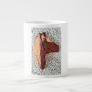 Brown Horse jjhelene Cutout Cookie Jumbo Mug