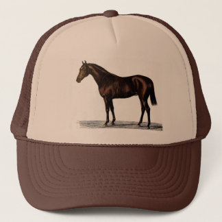 Brown Horse Trucker Hat