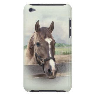 Brown Horse with Bridle iPod Touch Case-Mate Case