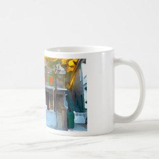 Brown House in Key West Coffee Mug