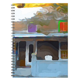 Brown House in Key West Notebook