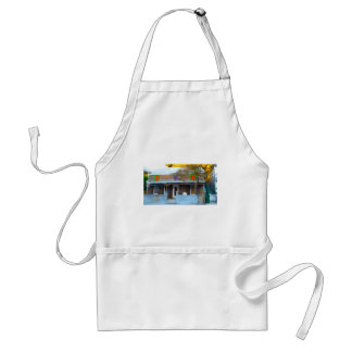 Brown House in Key West Standard Apron