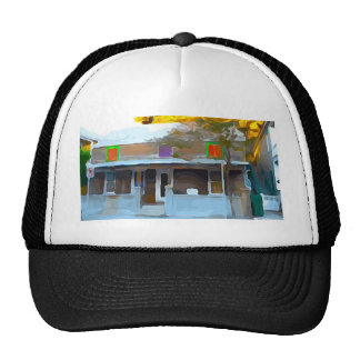 Brown House in Key West Trucker Hat