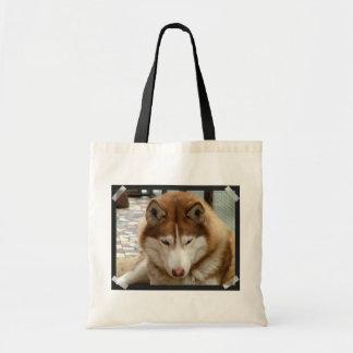 Brown Husky  Small Bag