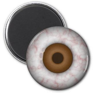 Brown Iris Eyeball  Magnet