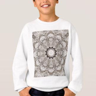 Brown Kaleidoscope Tree Bark Sweatshirt