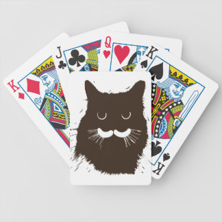 Brown Kitty Kitten Poker Deck