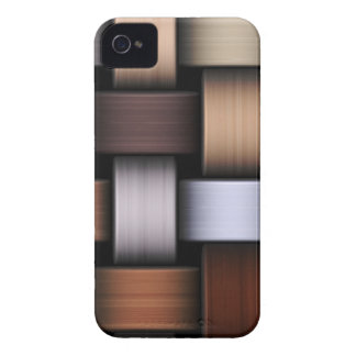 Brown knit texture iPhone 4 Case-Mate case