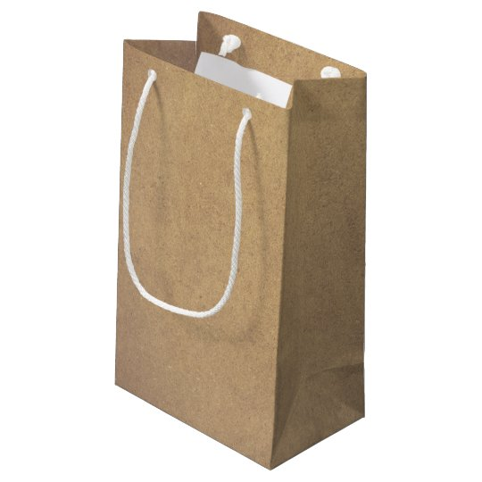 Brown Kraft Paper Style Small Gift Bag