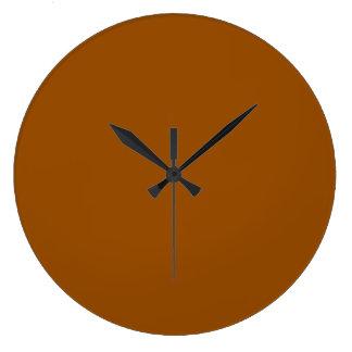 Brown Large Clock