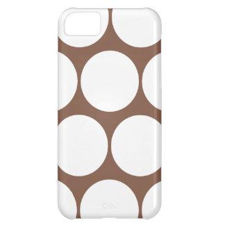 Brown Large Polka Dot iPhone 5 Case