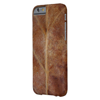 Brown Leaf Leaves Tree Barely There iPhone 6 Case