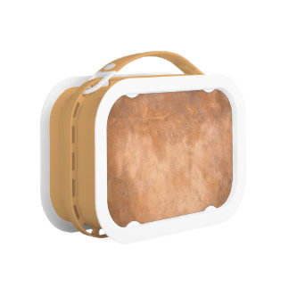 BROWN LEATHER LUNCH BOX