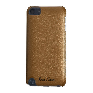 Brown Leather Touch iPod Case