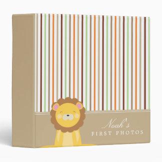 Brown | Lion And Stripes Binder