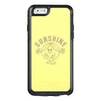 Brown Little Miss Sunshine OtterBox iPhone 6/6s Case